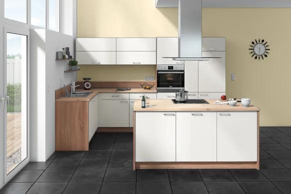 Küche Über Eck | Express Eck Insel Kuche Insel Eck 335 X 187 7 Cm Mobelix Kuchen